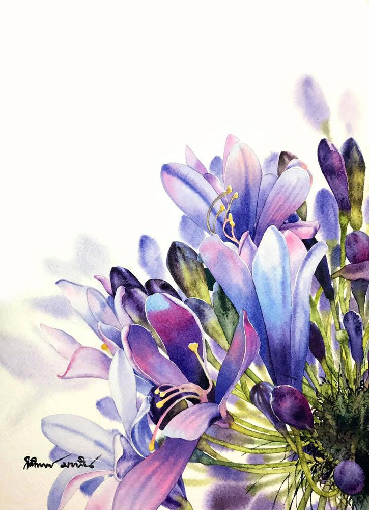 Watercolour Virtuoso: Kitipong Ti, фото № 10
