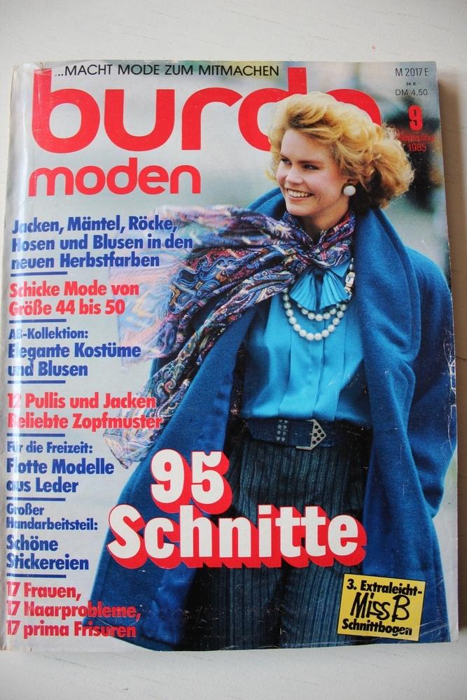 Burda moden /1985 Бурда Моден, фото № 1