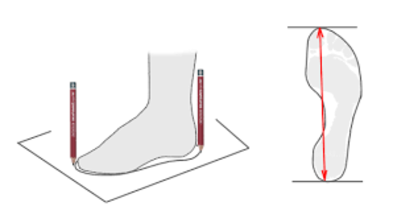 Как снять мерки для обуви, фото № 2
