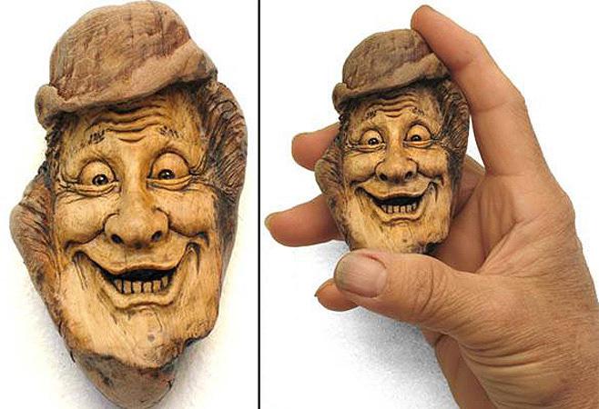 Нэнси Татл превращает коряги и обломки деревьев в сказочные деревянные скульптуры, фото № 22