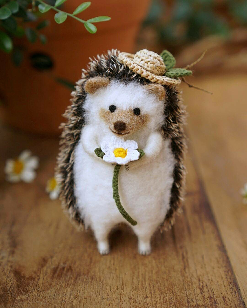 Mouse Stories: Adorable Felted Toys By Little Wool Tails, фото № 25