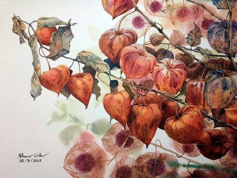 Watercolour Virtuoso: Kitipong Ti, фото № 30