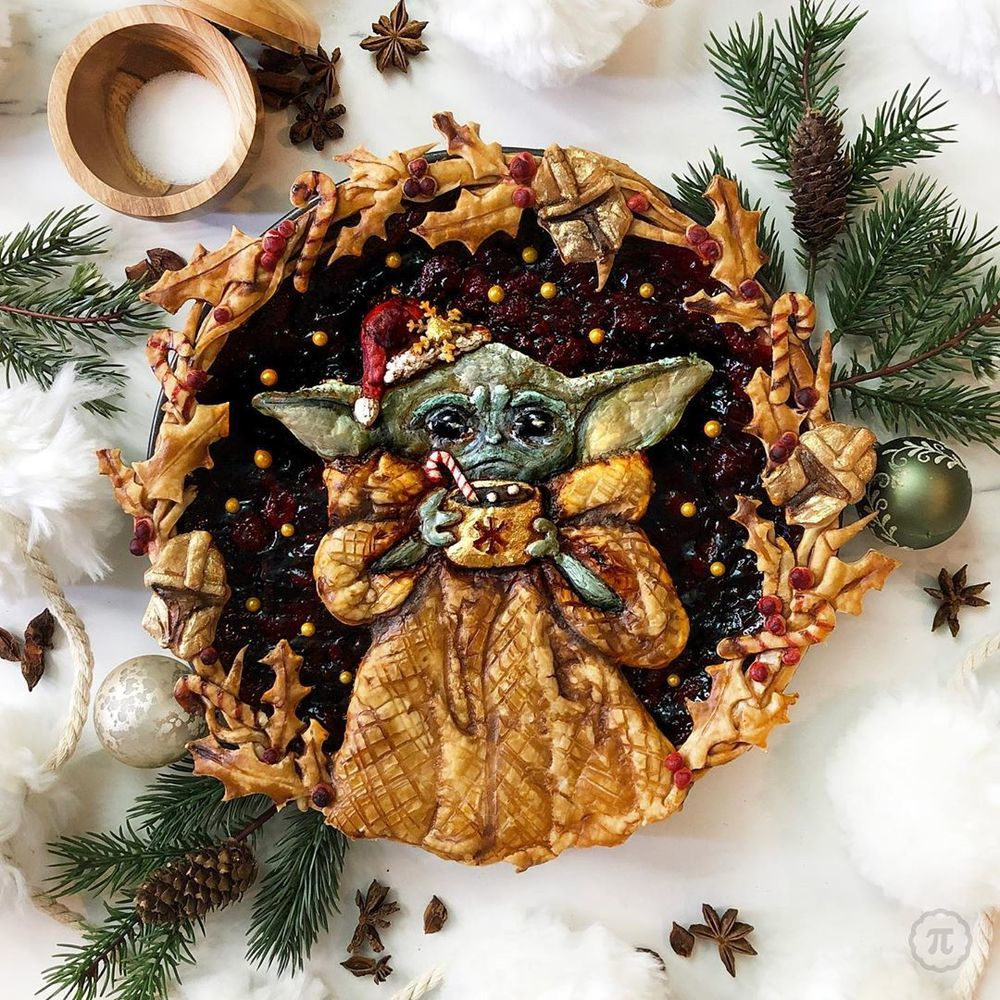 Self-Taught Cook Named Jessica Bakes Christmas Pies — And They Are Gorgeous!, фото № 13