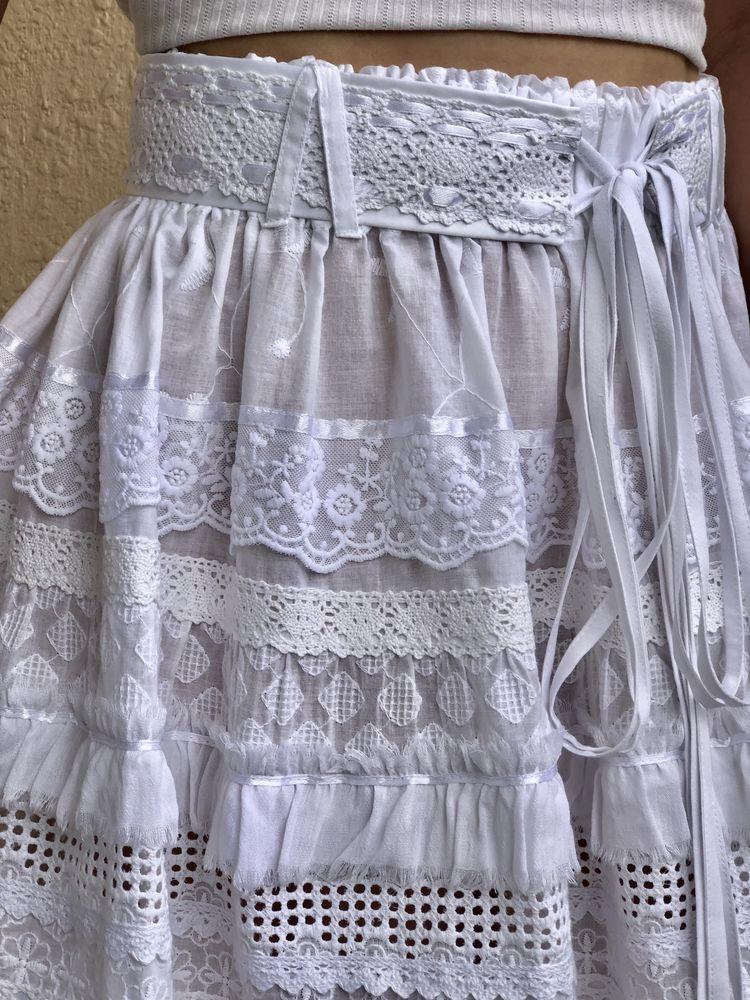 юбка из хлопка