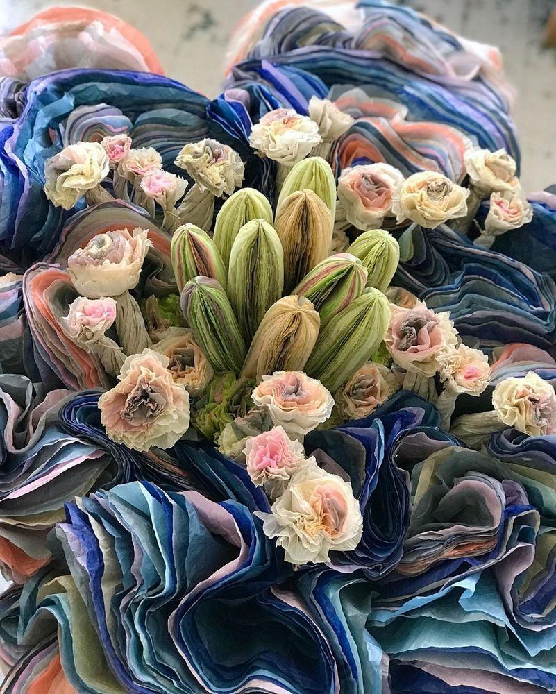 Потрясающие бумажные цветы датской художницы arianne riksen-cott ansen, фото № 36