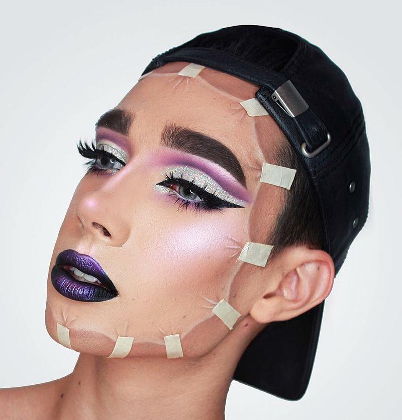 Косметика — моя палитра, а лицо — мой холст: макияж как искусство в работах James Charles – Ярмарка Мастеров<br />