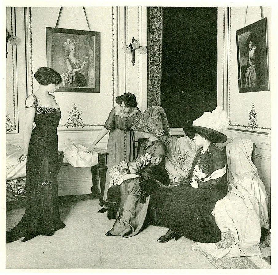 История показов мод. Истоки высокой моды, фото № 2