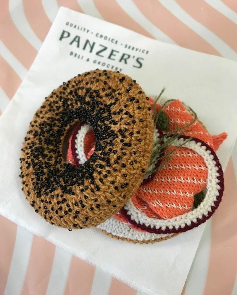 Adorable Sardines & Baguettes In Love: Knitted Food by Kate Jenkins, фото № 13