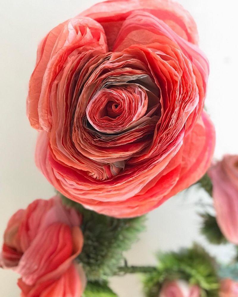 Потрясающие бумажные цветы датской художницы arianne riksen-cott ansen, фото № 21
