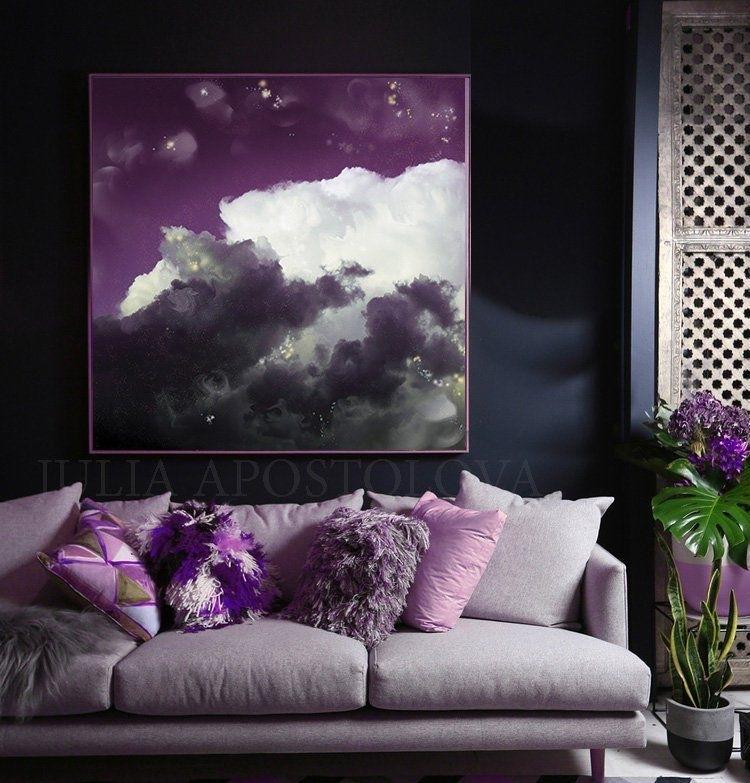 Сливовый цвет: 15 стильных идей для вашего интерьера, фото № 23