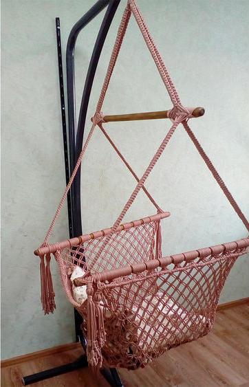 Плетём подвесное кресло, фото № 2