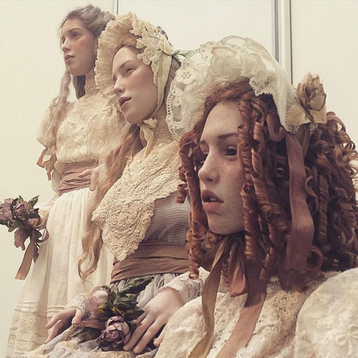 Реалистичные куклы из полимерной глины