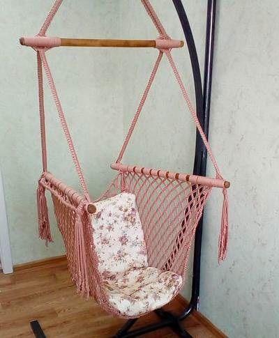 Плетём подвесное кресло, фото № 1