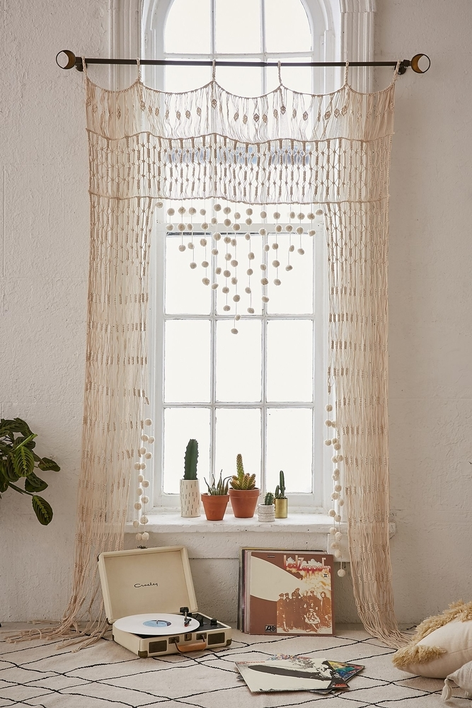 Tangled Story: 35 Ideas of Macrame in Interior, фото № 22