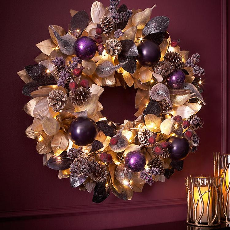 Золотой новогодний декор: 15 классных идей, фото № 6