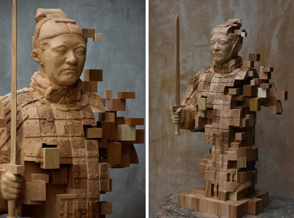 Striking Wooden Sculptures By Hsu Tung Han, фото № 13