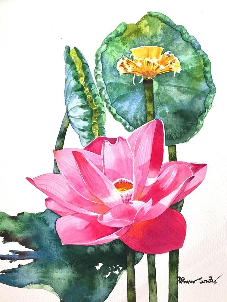 Watercolour Virtuoso: Kitipong Ti, фото № 22
