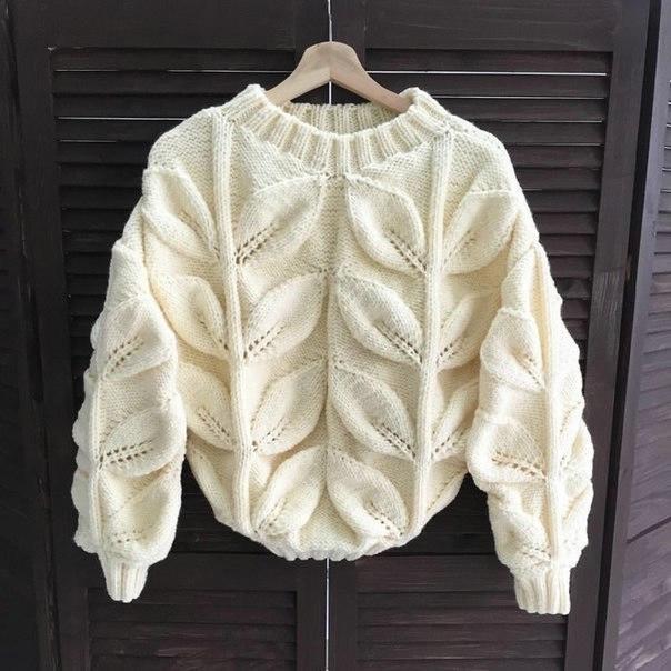 К зиме готовы! 50 идей вещей для вязания спицами, фото № 22