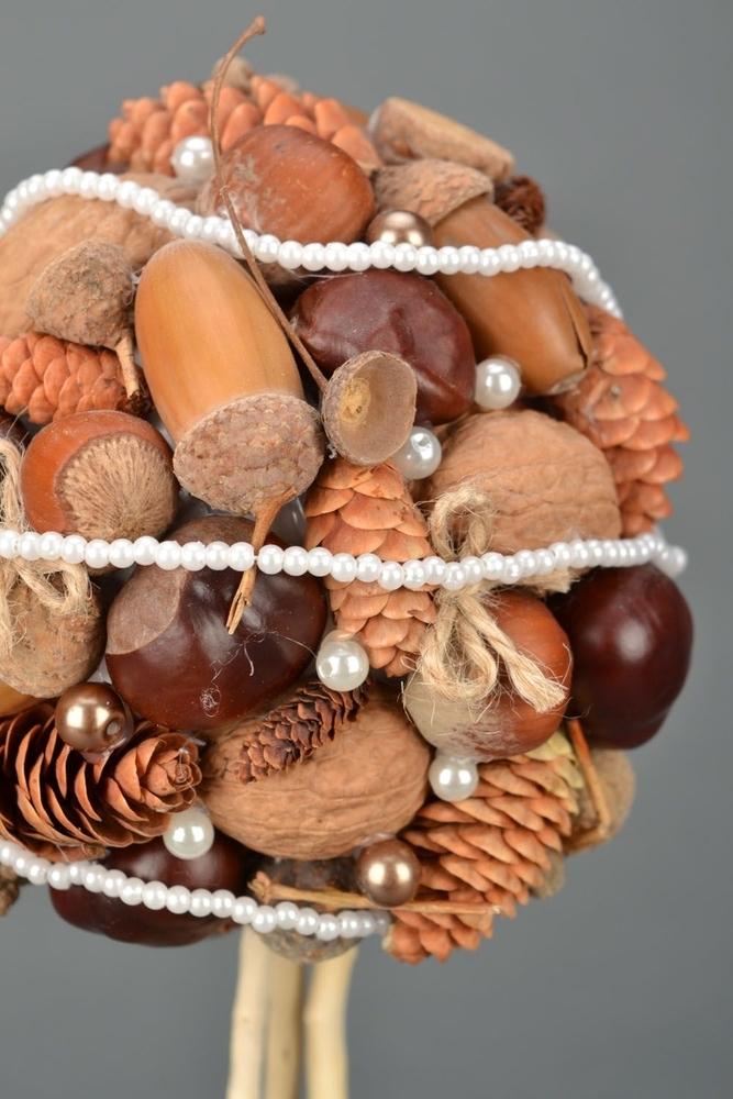 22 Autumn Ideas For Creative Use Of Acorns, фото № 20