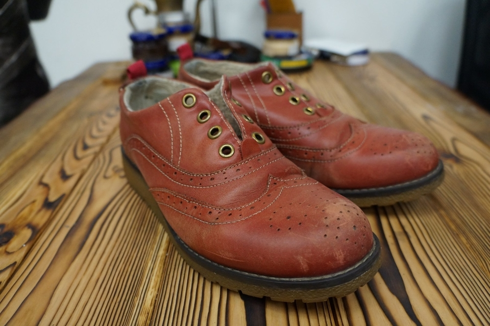 Глассаж обуви или зеркальная полировка, фото № 2