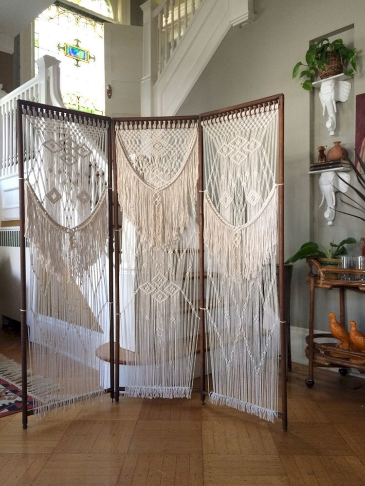 Tangled Story: 35 Ideas of Macrame in Interior, фото № 10