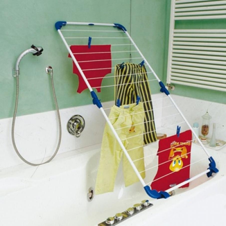 Где сушить белье в квартире красиво и удобно? (33 обычных и необычных решений), фото № 2