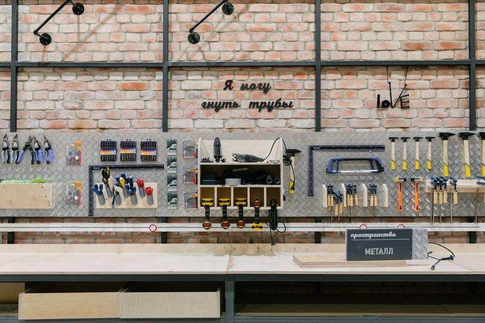 Новый «Леруа Мерлен ЗИЛ» не просто строительный магазин. Там есть мастерская, свежесрезанные цветы и даже роботизированная нога!, фото № 19