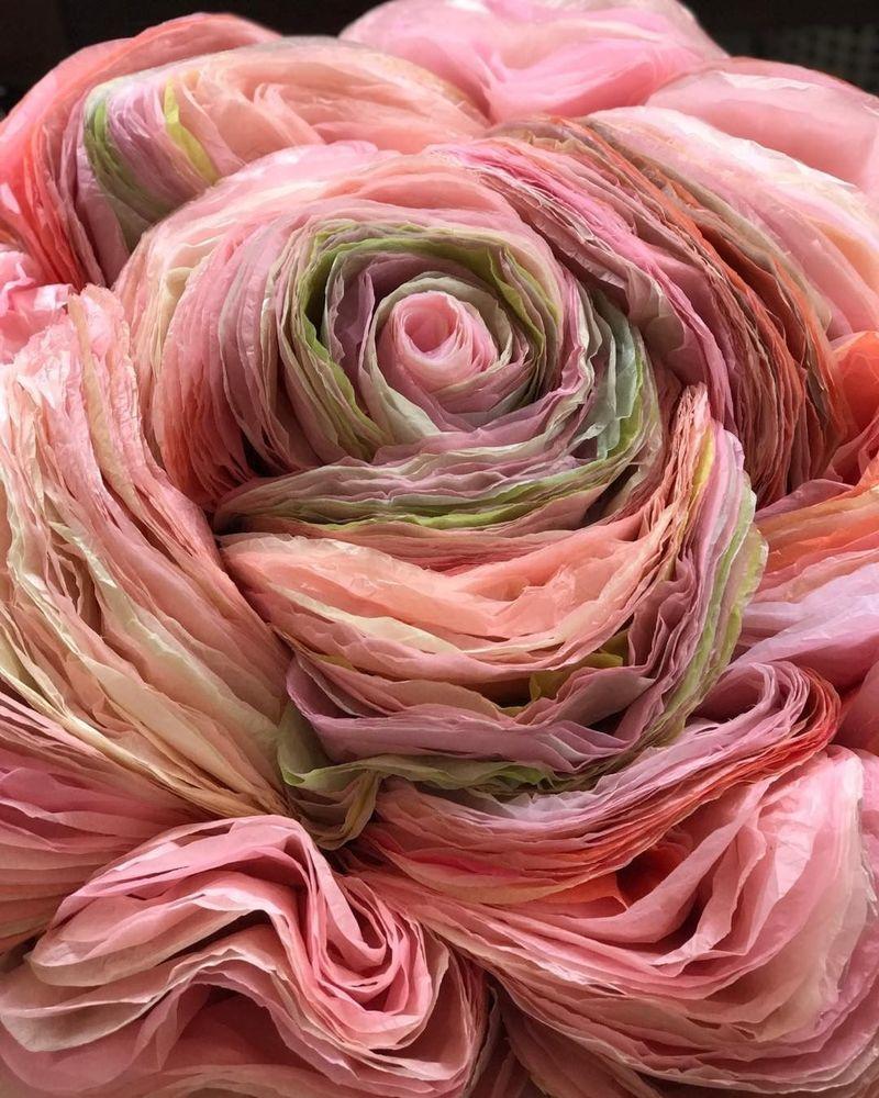 Потрясающие бумажные цветы датской художницы arianne riksen-cott ansen, фото № 13