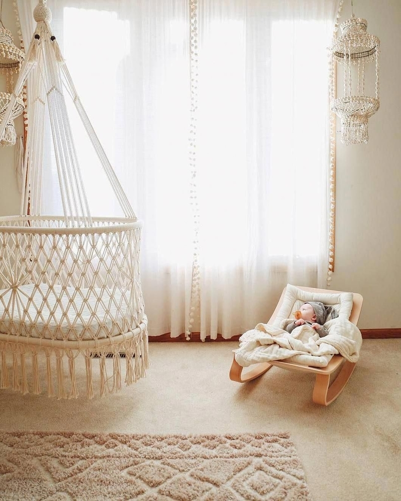 Tangled Story: 35 Ideas of Macrame in Interior, фото № 28