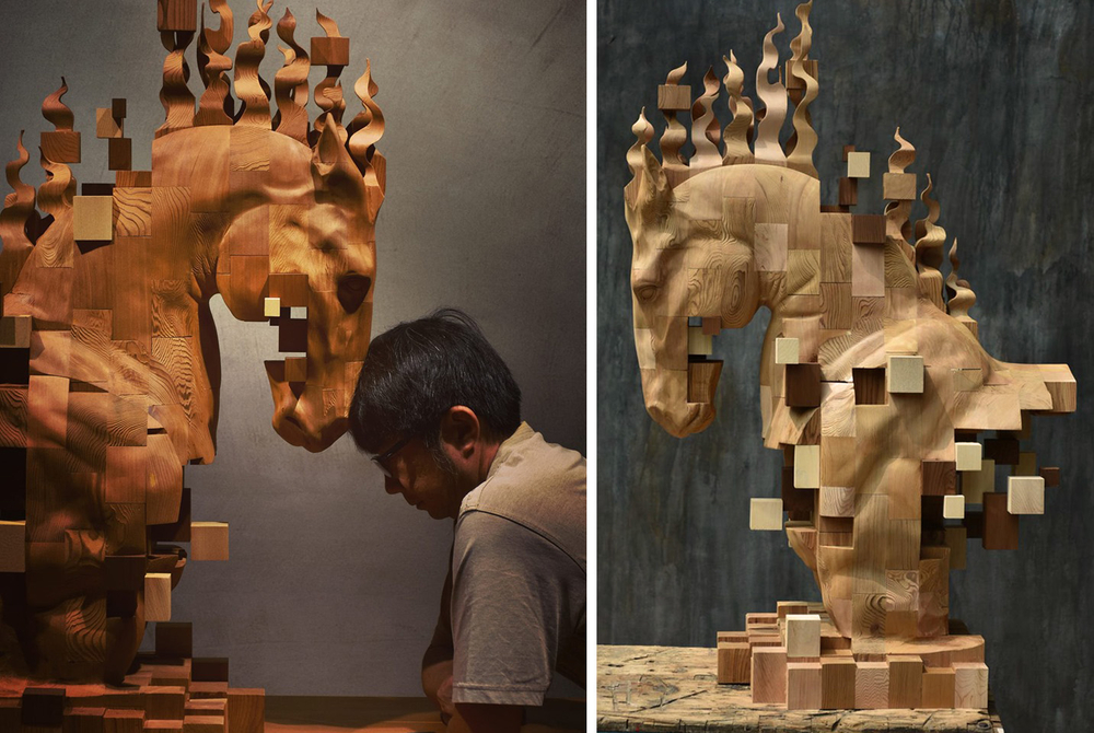 Striking Wooden Sculptures By Hsu Tung Han, фото № 1