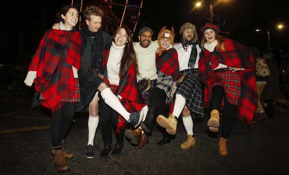 новый год в шотландии картинки случаю