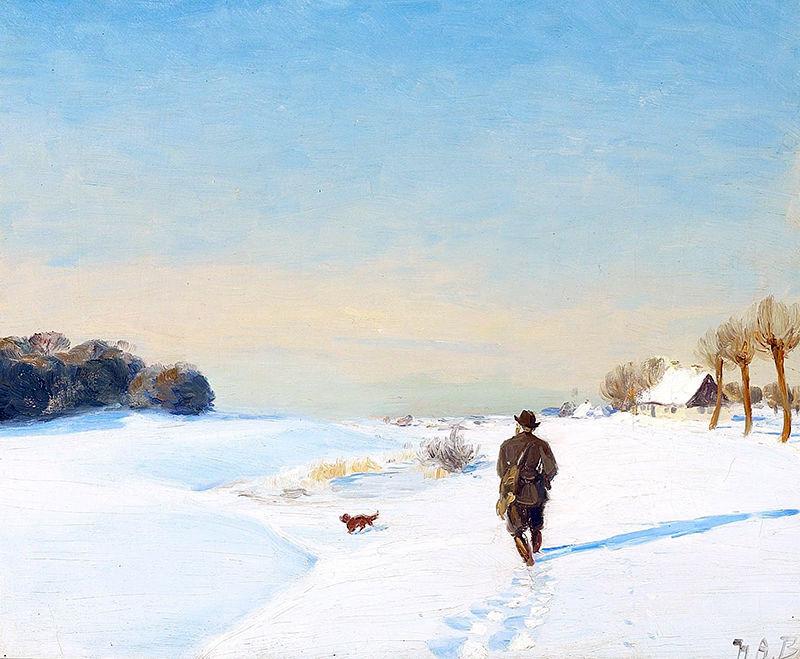Живописные сцены сельской жизни в работах Hans Andersen Brendekilde
