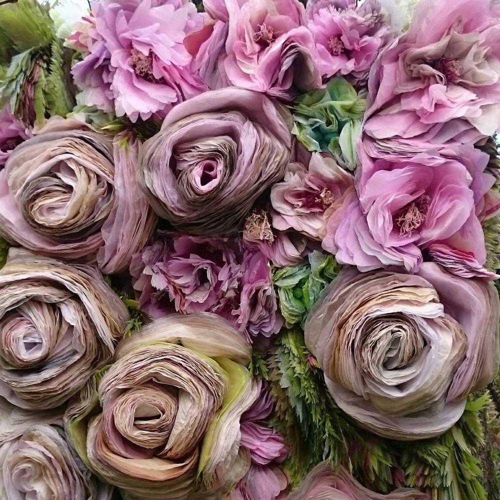 Потрясающие бумажные цветы датской художницы arianne riksen-cott ansen, фото № 3