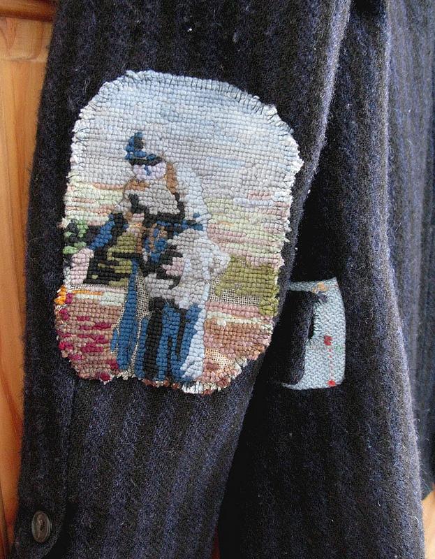 Декоративные заплатки на локтях одежды: 11 креативных идей, фото № 8