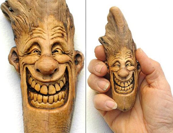 Нэнси Татл превращает коряги и обломки деревьев в сказочные деревянные скульптуры, фото № 32