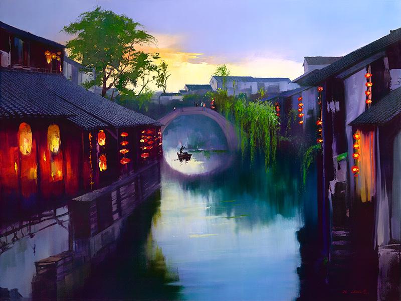 Кен Хонг Лунг — мастер волшебных пейзажей, фото № 2