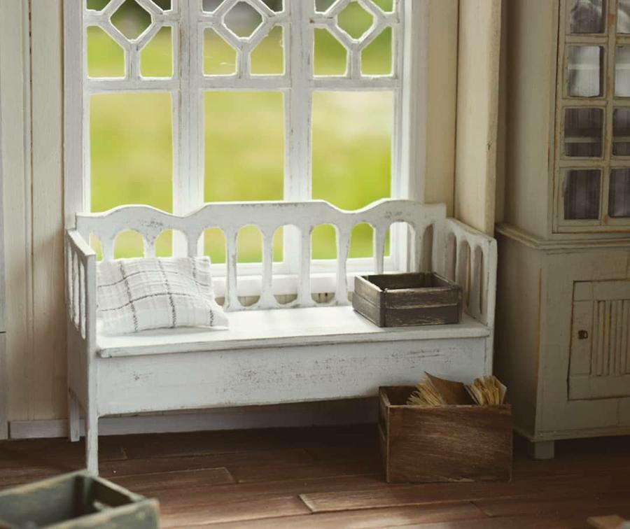 Финская художница создает дома мечты... в миниатюре, фото № 43