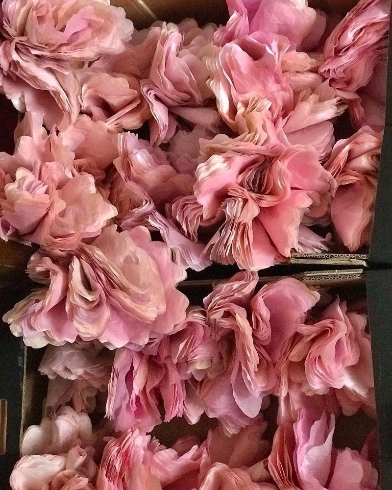 Потрясающие бумажные цветы датской художницы arianne riksen-cott ansen, фото № 29