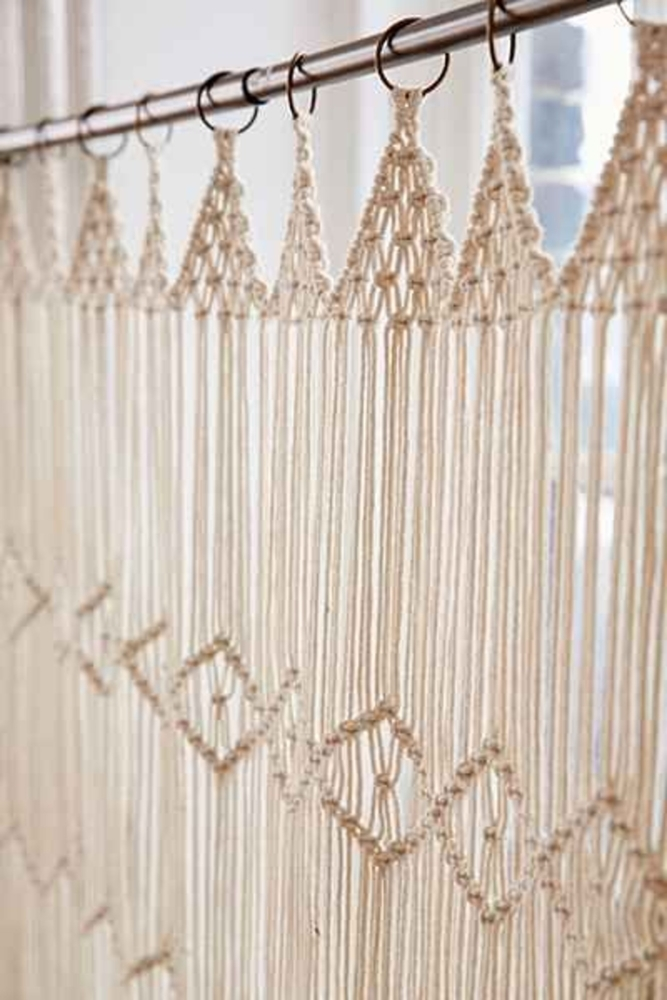 Tangled Story: 35 Ideas of Macrame in Interior, фото № 24