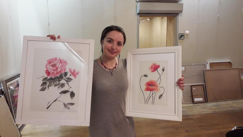 обучение живописи, выставка в москве