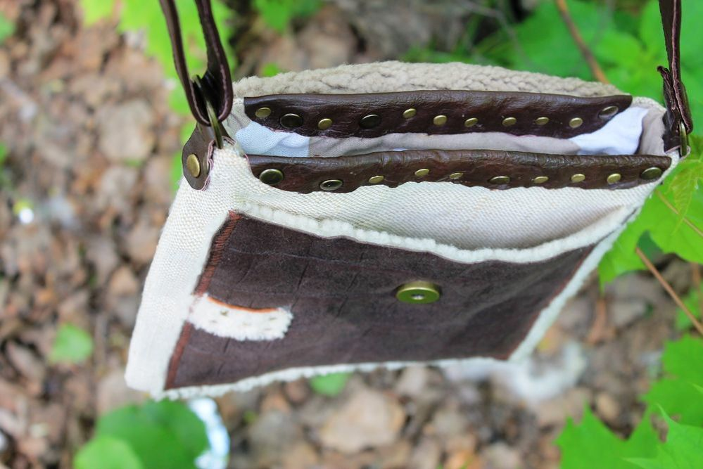 сумка женская, авторская сумка, сумка ковбоя