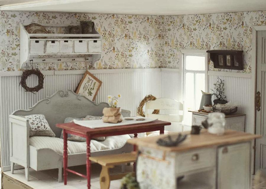 Финская художница создает дома мечты... в миниатюре, фото № 2