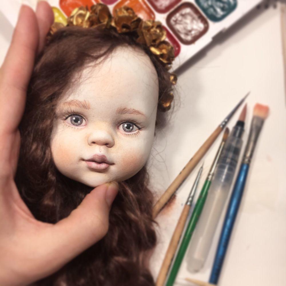 Расписываем кукольное лицо, фото № 1