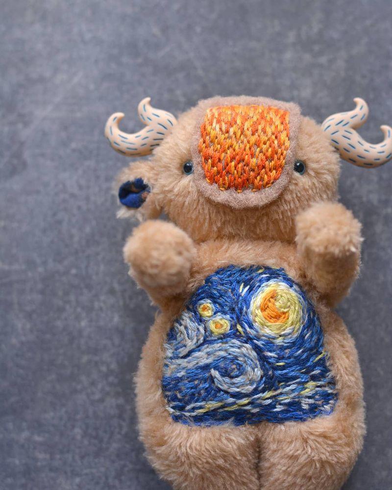 Нестрашные монстрики: обаятельные духи лесов, глубин и пончиков от Натальи Махневой – Ярмарка Мастеров<br />