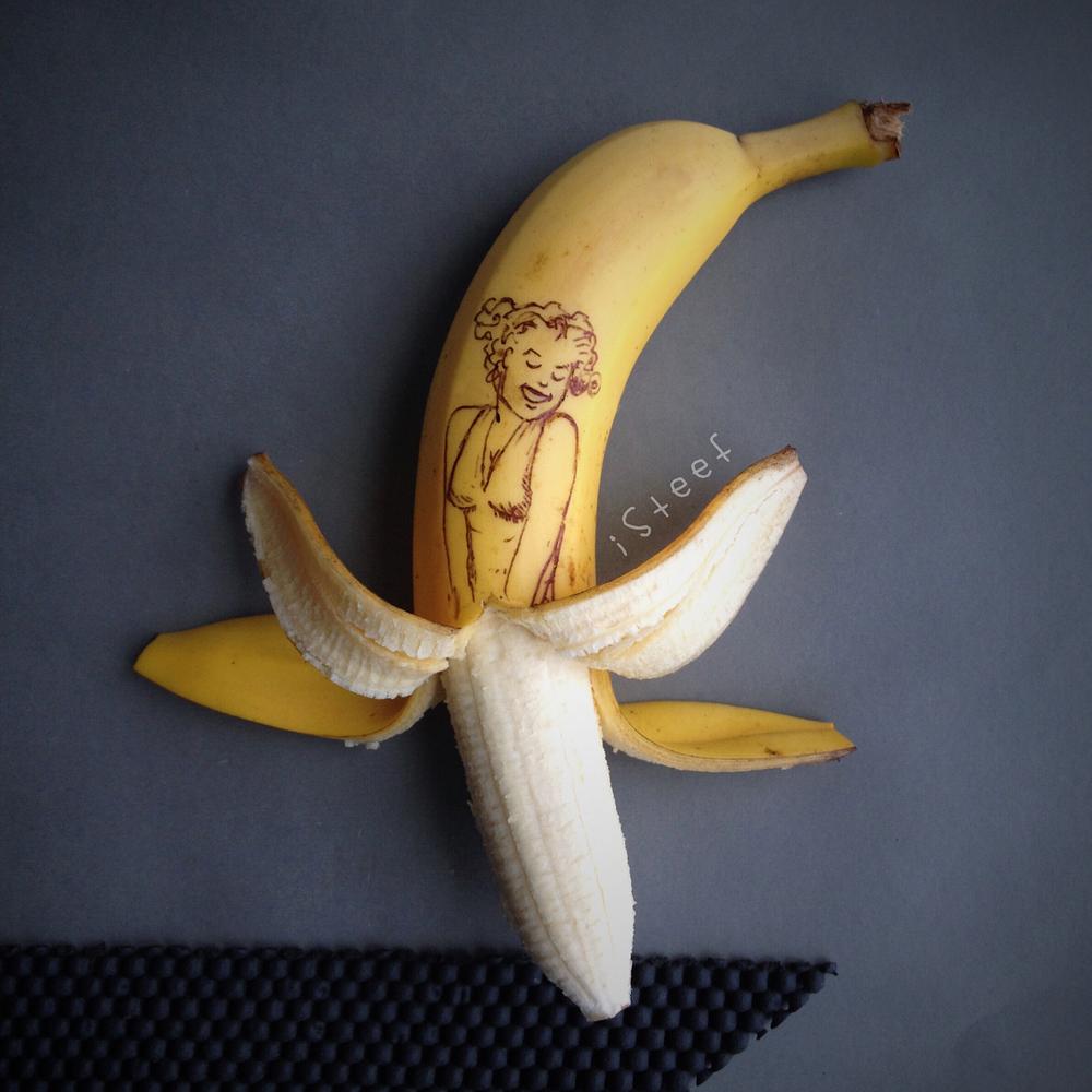Повелитель бананов Стивен Брюче меняет наше привычное представление об этом фрукте в своём творчестве!, фото № 21
