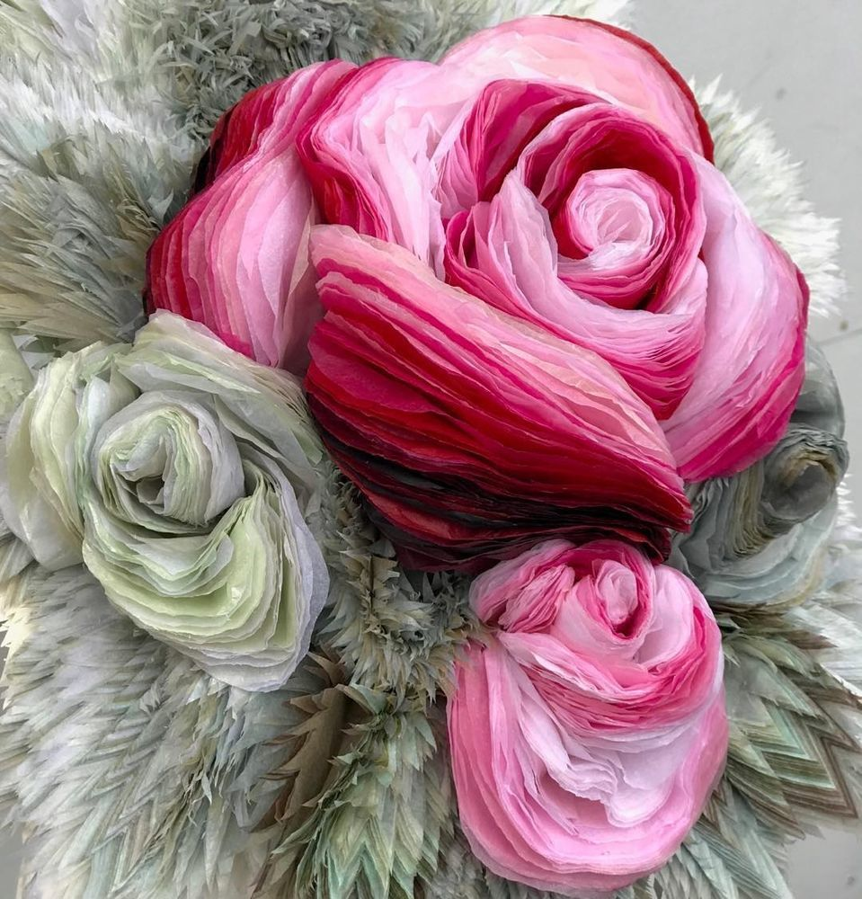 Потрясающие бумажные цветы датской художницы arianne riksen-cott ansen, фото № 28