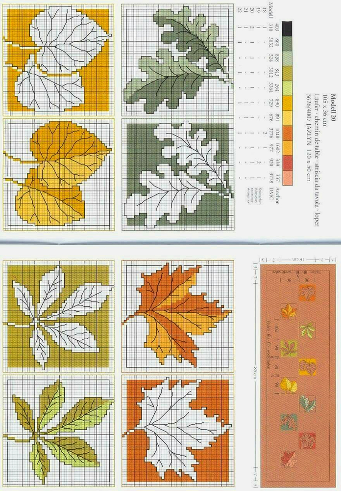 In Love With Autumn: 50+ Cross Stitch Patterns, фото № 23