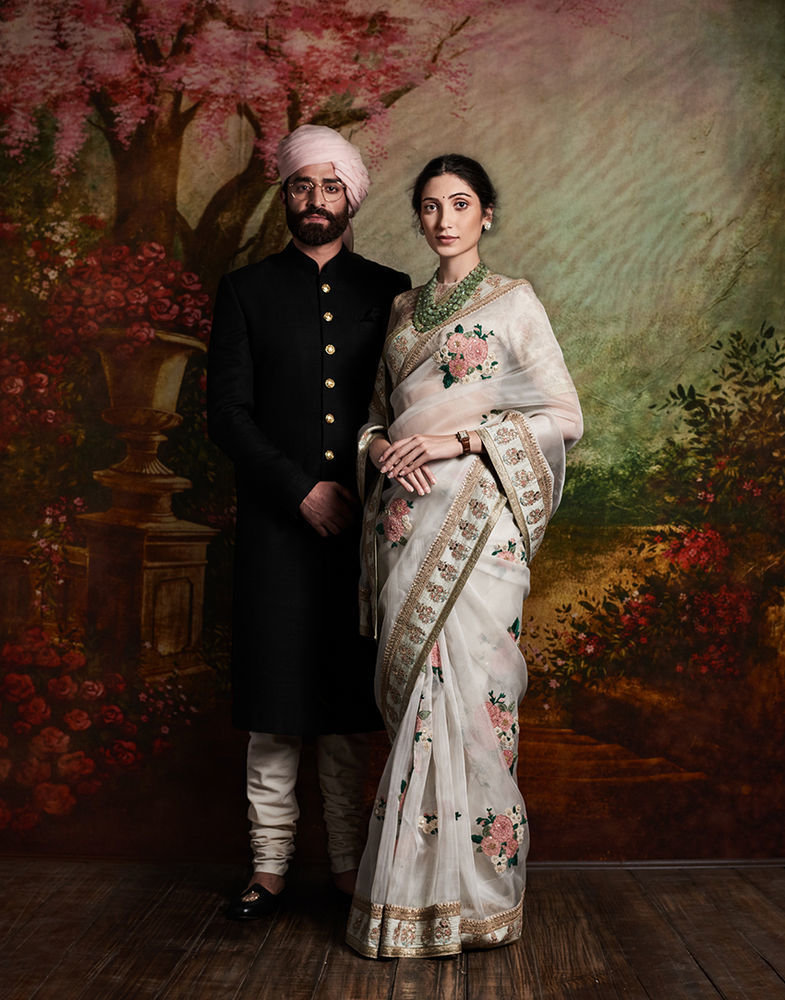 индийские серьги
