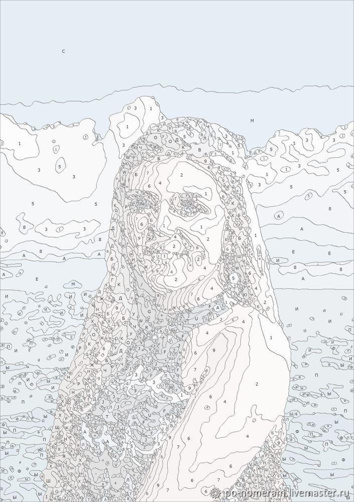 Создаем картину по номерам с помощью программы «Раскраска ...