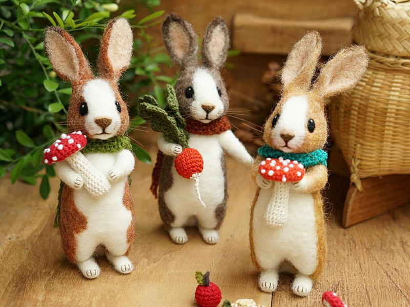 Mouse Stories: Adorable Felted Toys By Little Wool Tails, фото № 9